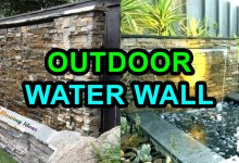 Photo of Amazing Outdoor Water Walls