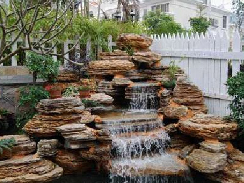 Artificial Rock Waterfall Design