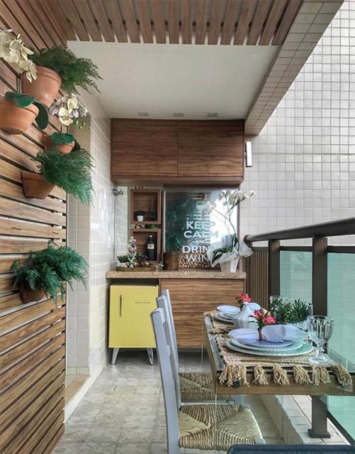 Balcony Kitchen Ideas