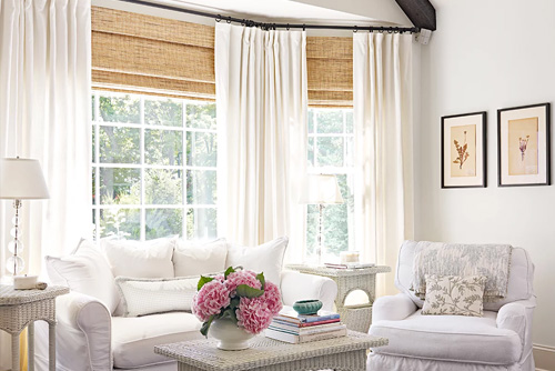 Bay Bow Window Decor