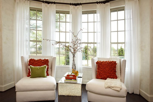 Bay Windows For Living Room