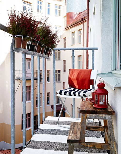Cool Breezy Small Balcony