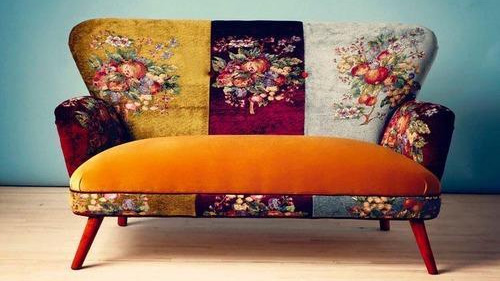 Designer Colorful Sofa