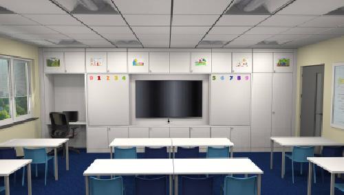 Elegant Classroom Design