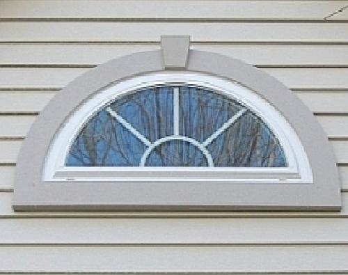 Half Round Window Design