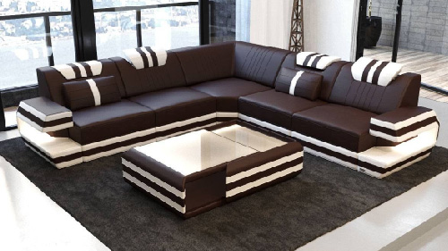 Leather Sofa Design