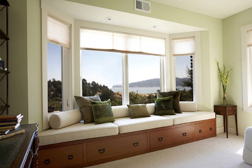 Living Room Bay Window Style