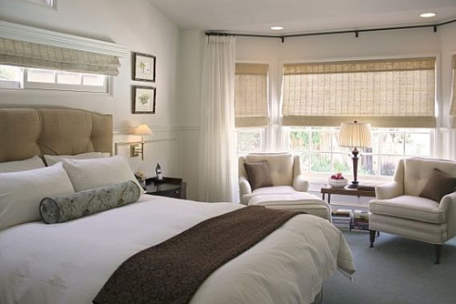 Luxurious Bay Window For Bedroom
