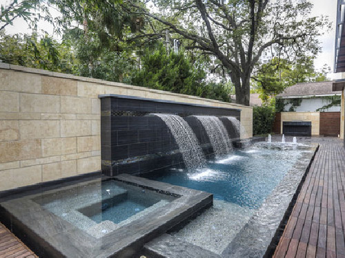 Modern Artificial Waterfall Decoration
