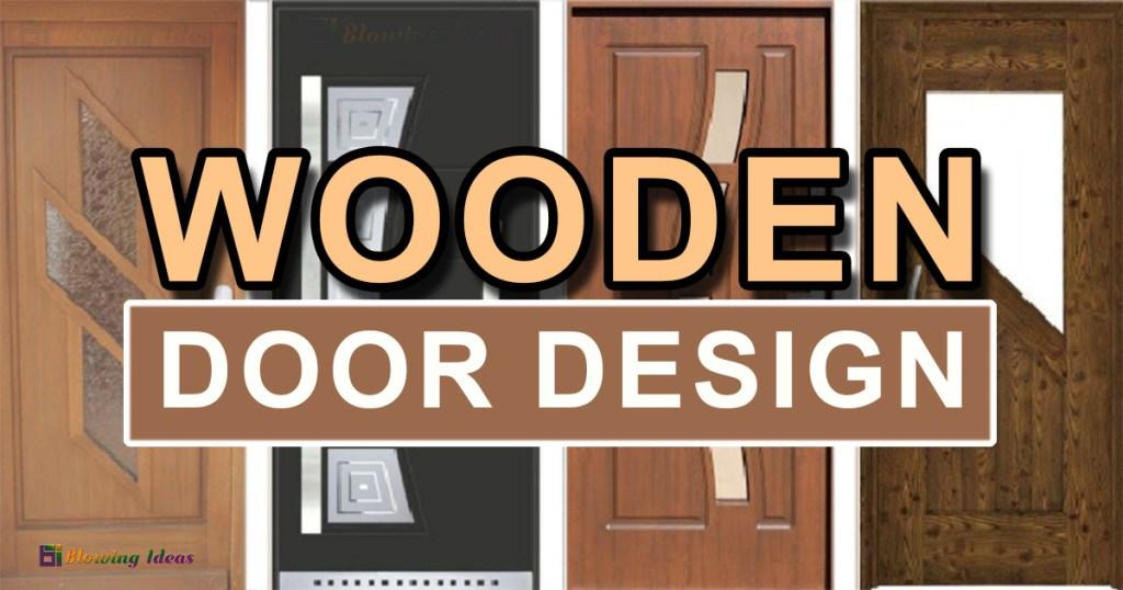 Modern Wooden Door Design For Home