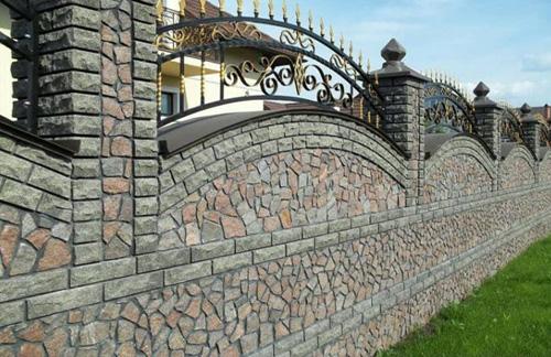 Stylish Boundary Wall