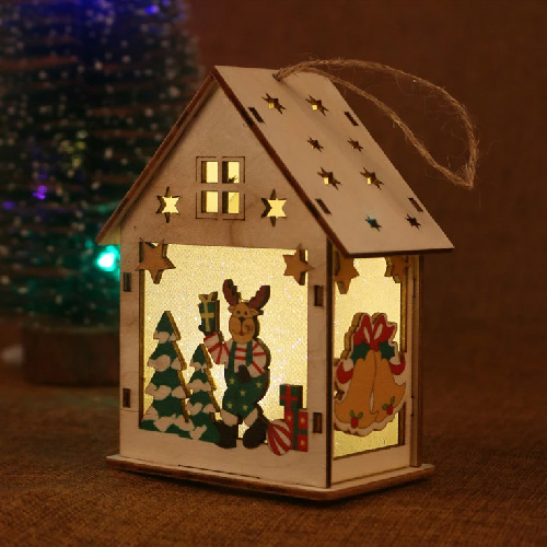 Wooden House Craft Design
