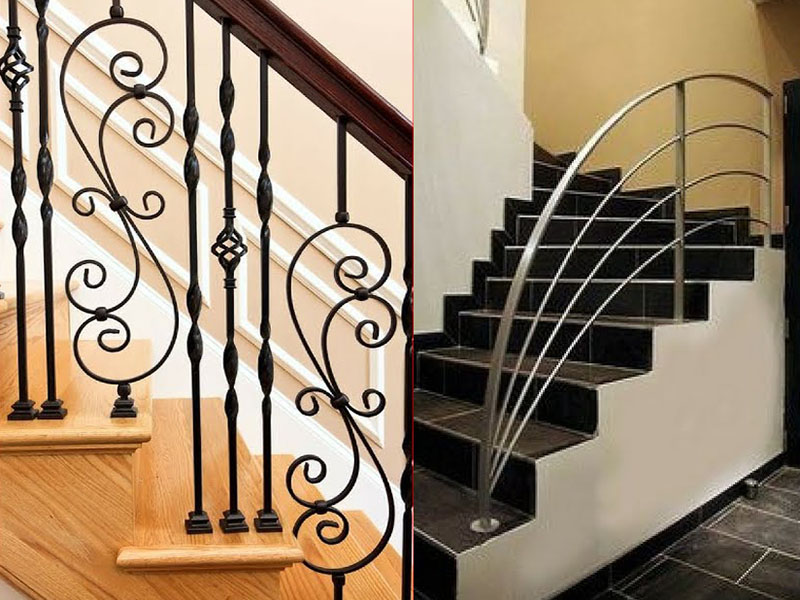 Diferent Steel Railing Design