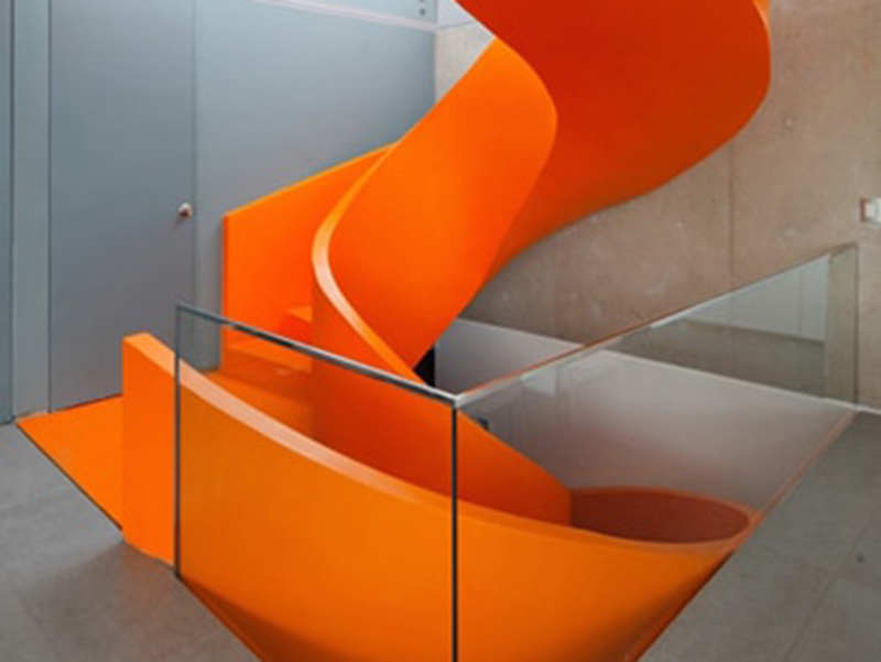 Unique Design Stair Case
