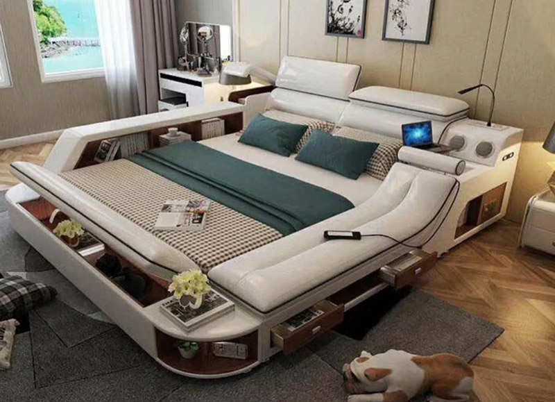 Bed Design For Tech Lovers