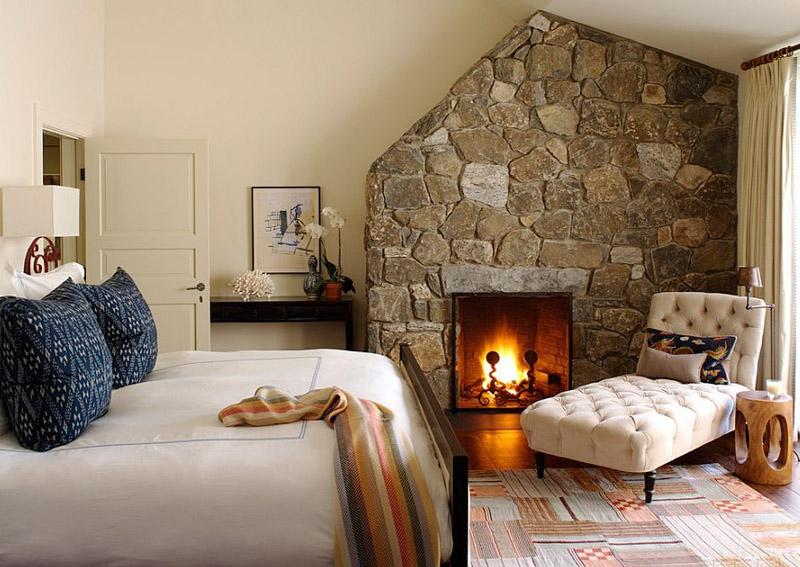 Bedroom Rock Wall Design