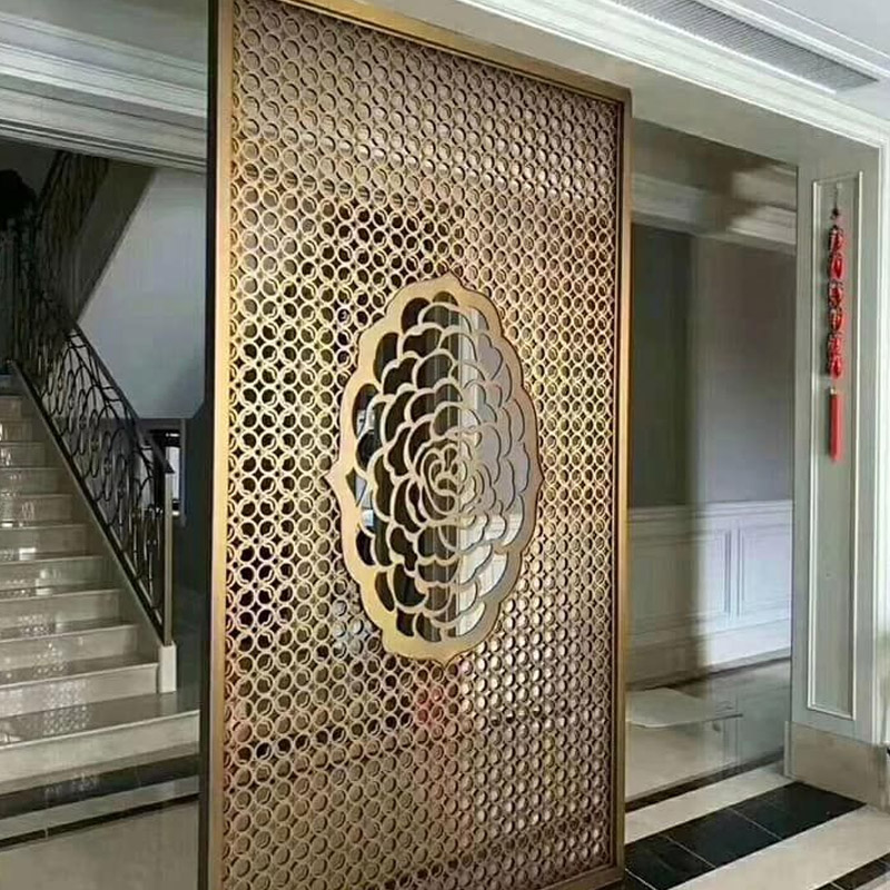 Metal Wall Partition Design