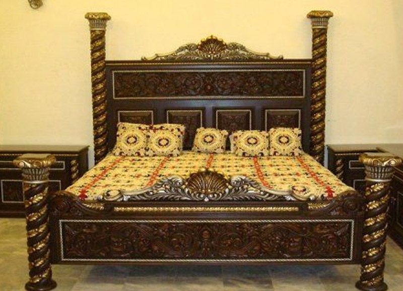Pakistan Bed Design