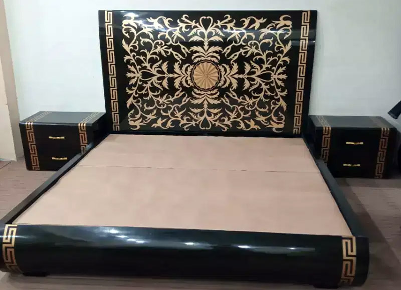 Versace Style Bed Ideas