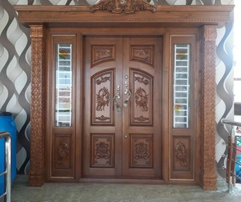 Double Door Design For Home