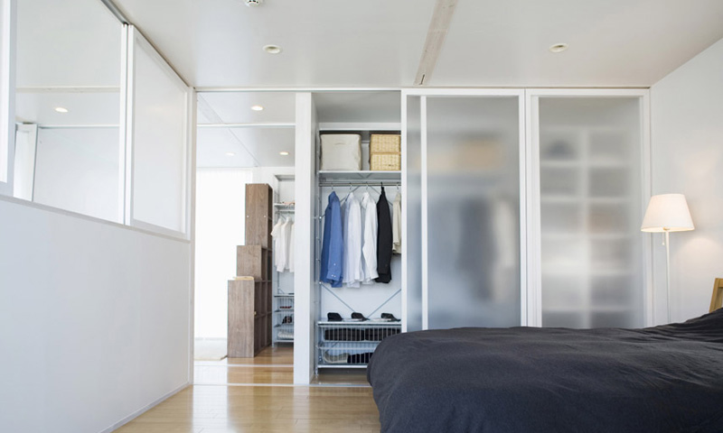 Glass Wardrobes