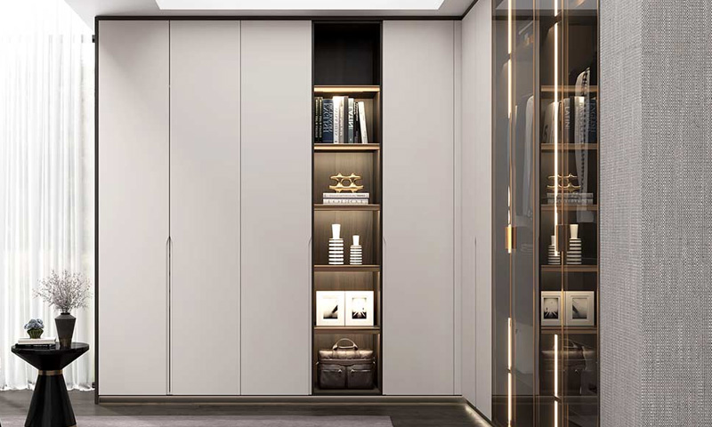 Modern L Shaped Wardrobe