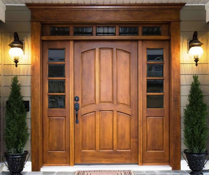 Wooden Main Door