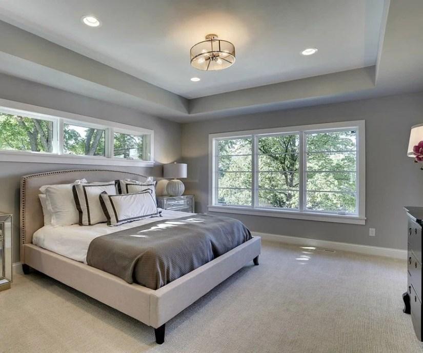 Bedroom Center Lighting Idea