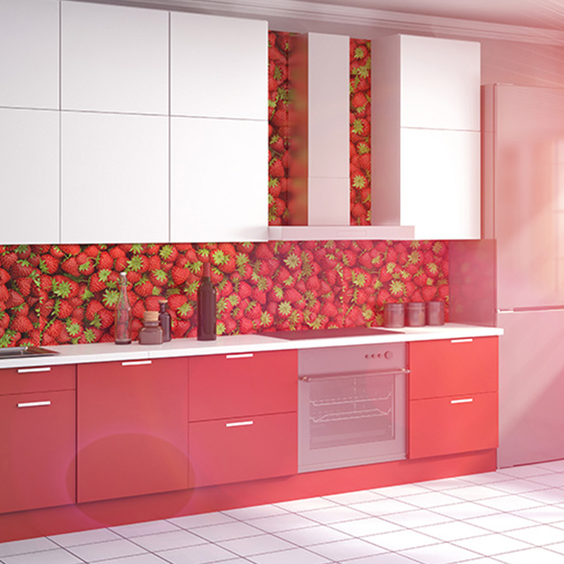 3D Wallpaper Tiles For Kitchen