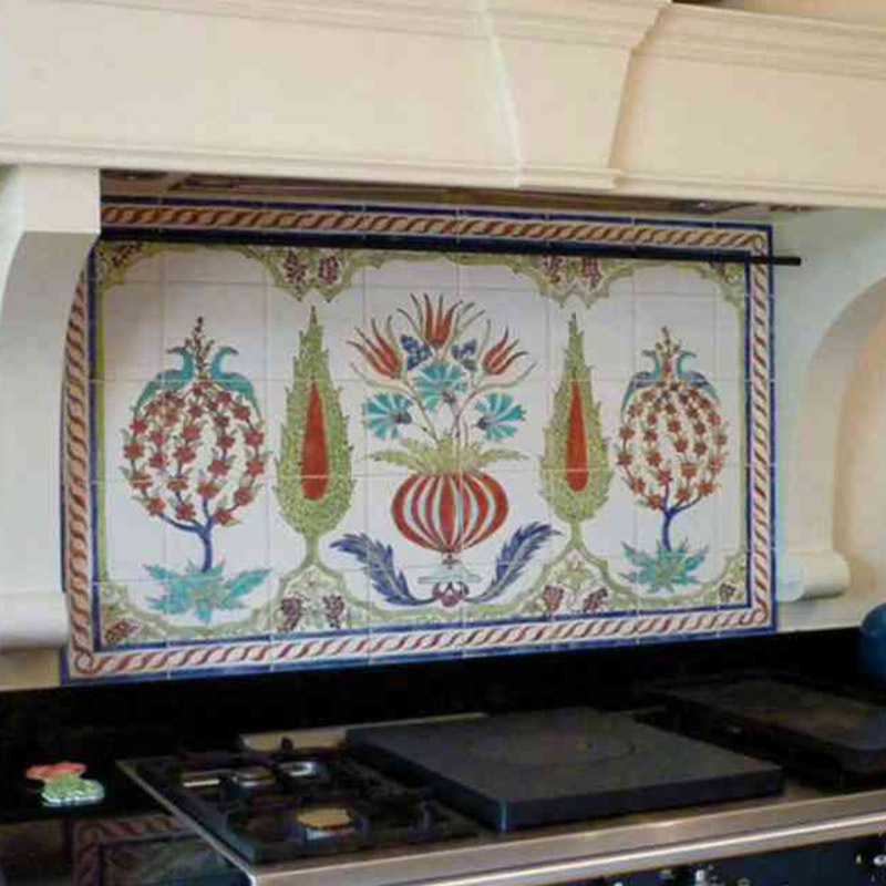 Artistic Kitchen Tiles