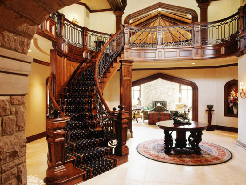 Entry Hall Designs With Stairs