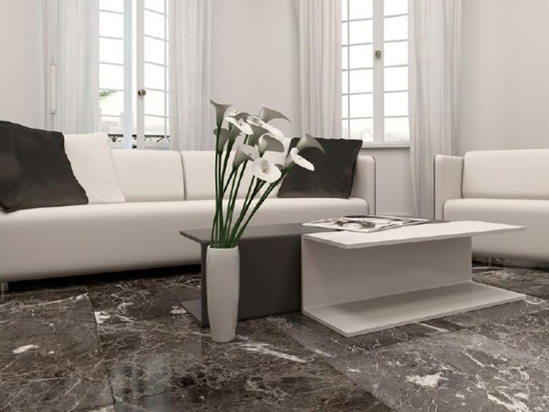 Marble Tiles Floor Livingroom