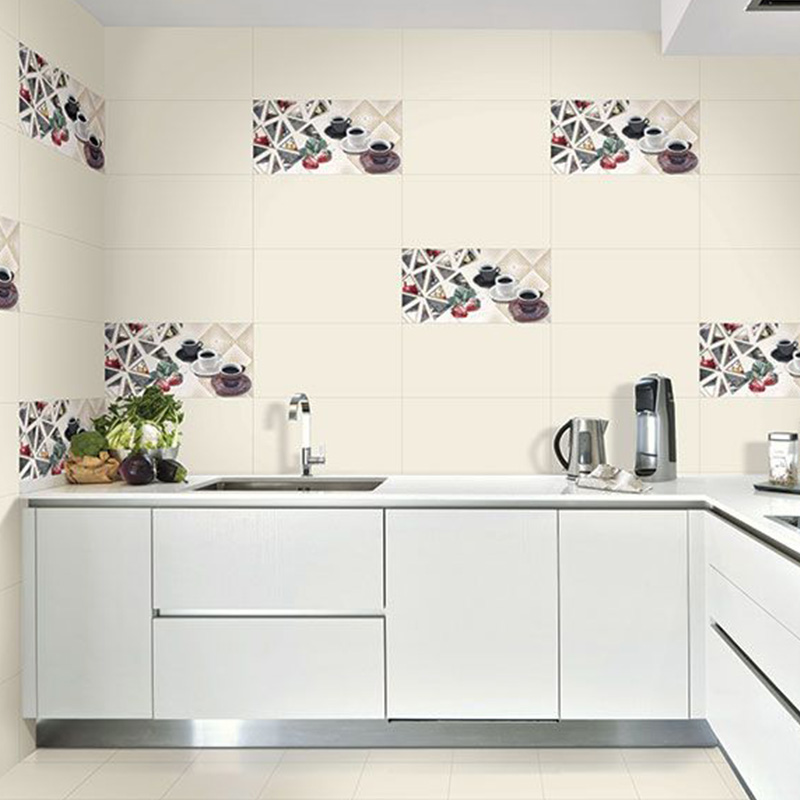 OffWhite Kitchen Tiles