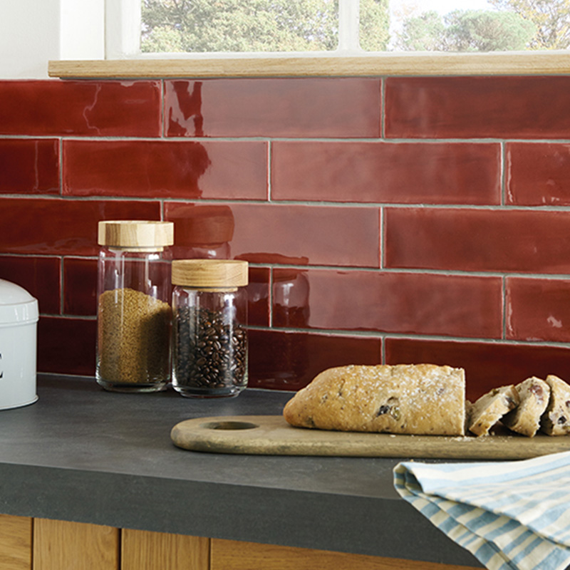 Red Kitchen Tile Ideas