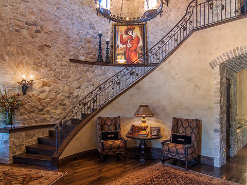 Stylish Stair In Hall