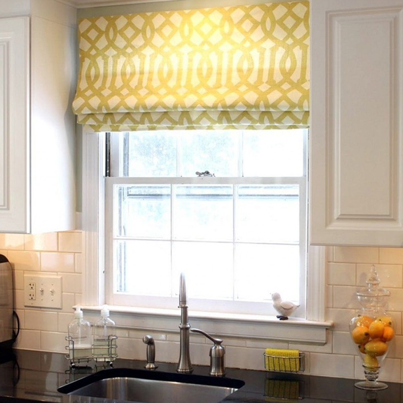 Above Sink Curtain