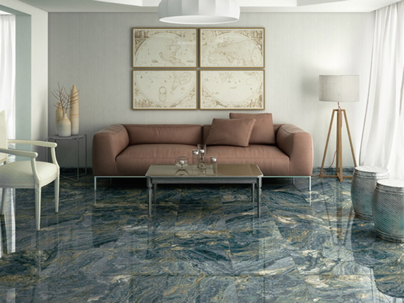 Agate Floor Tiles Living Room