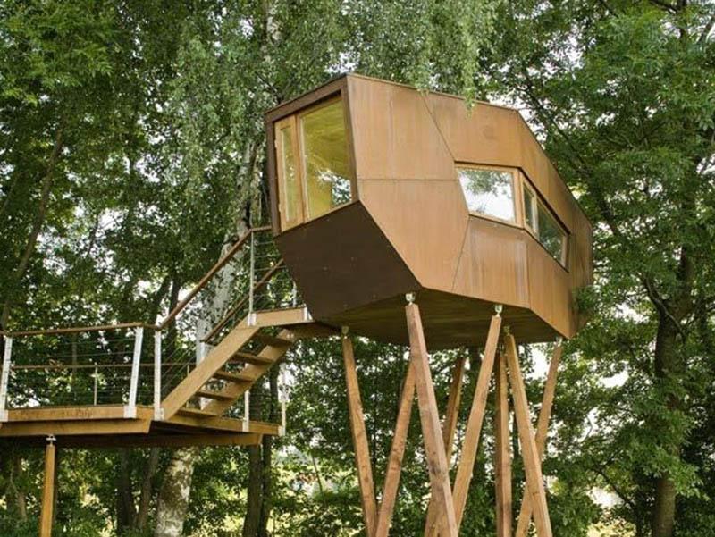 Back Yard Floating Tree House