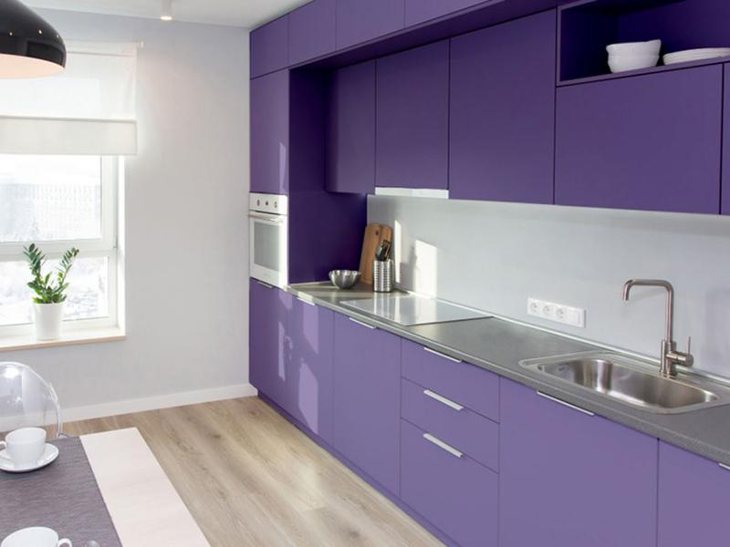 Beautiful Blue Kitchen Cabinet