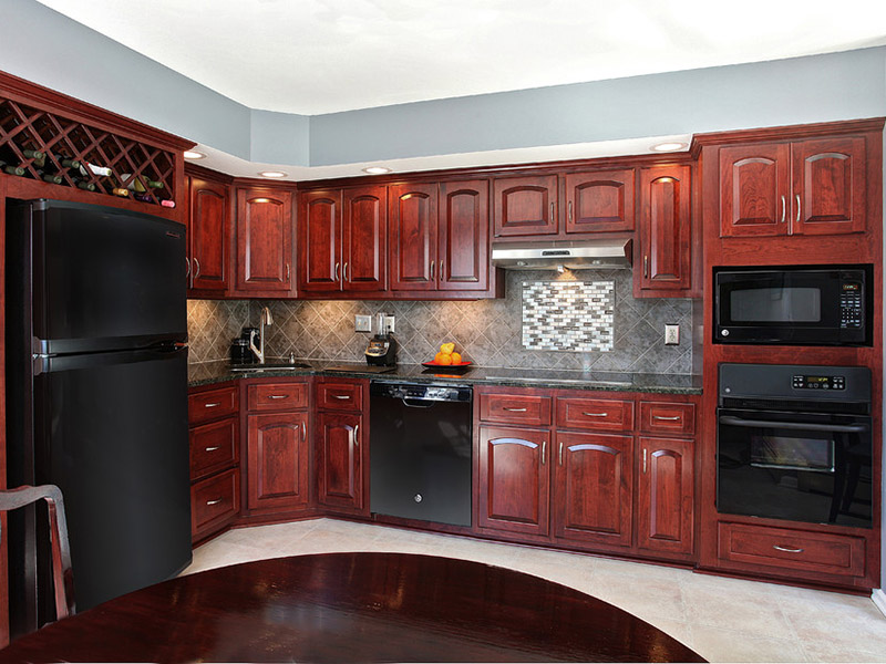 Cherry Kitchen Cabinet Style Of Wood