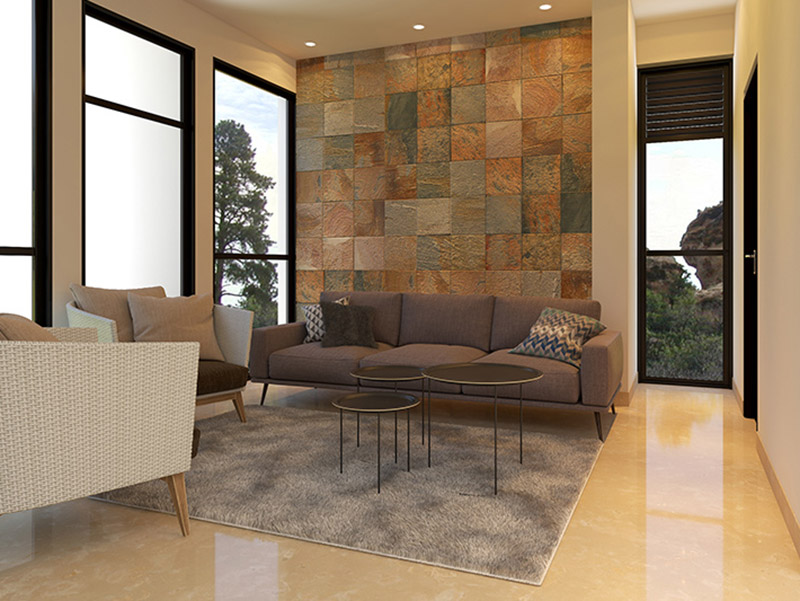 Decorative Wal Tiles Living Room