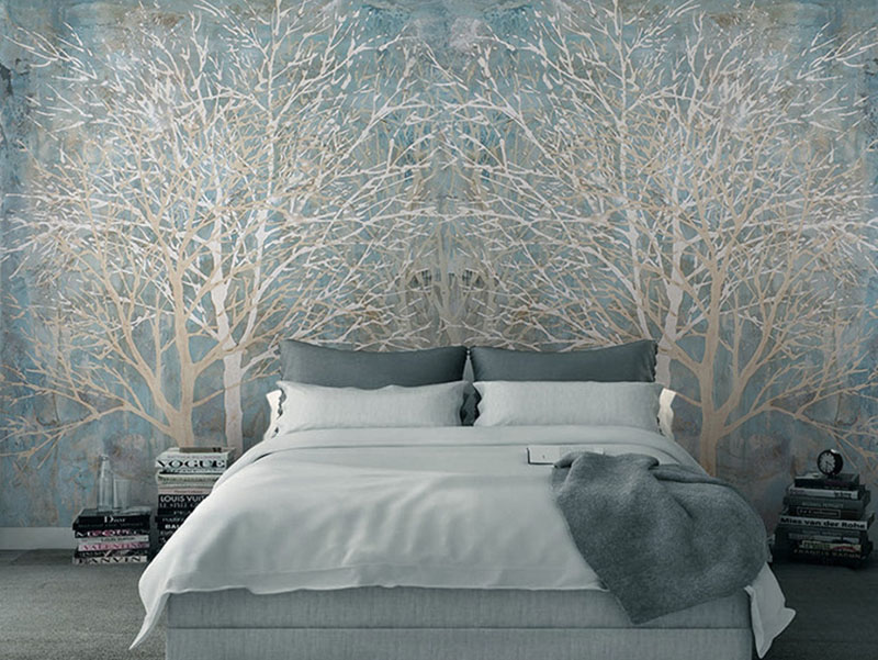 Modern Chines 3d Wall Tiles Bedroom