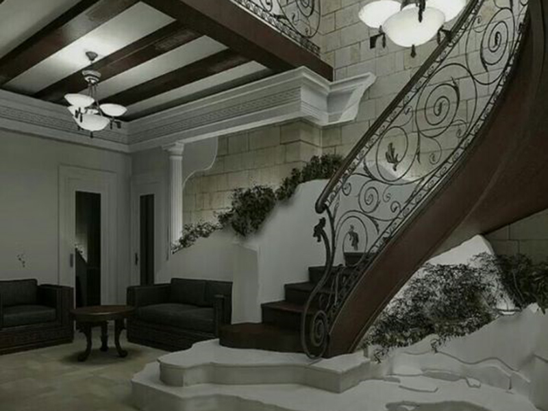 Modern Stair In Hall