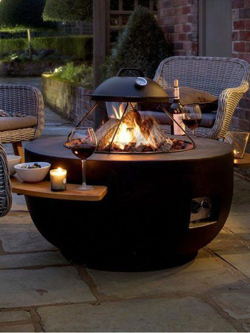 New Trendy Fire Pit