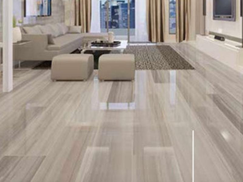 Polished Procelain Floor Tiles Livingroom