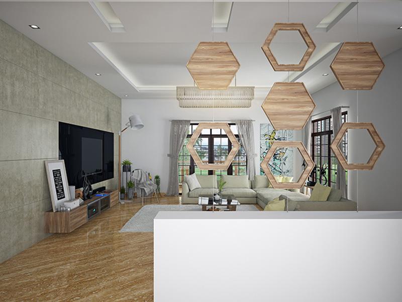 Unique Wall Tiles Design Livingroom