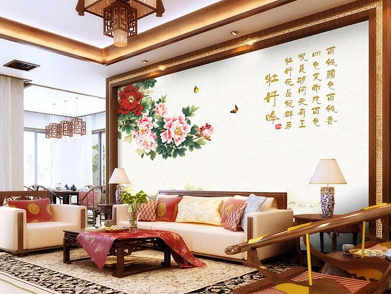 3D New Design WPC Wall Panel For Living Room