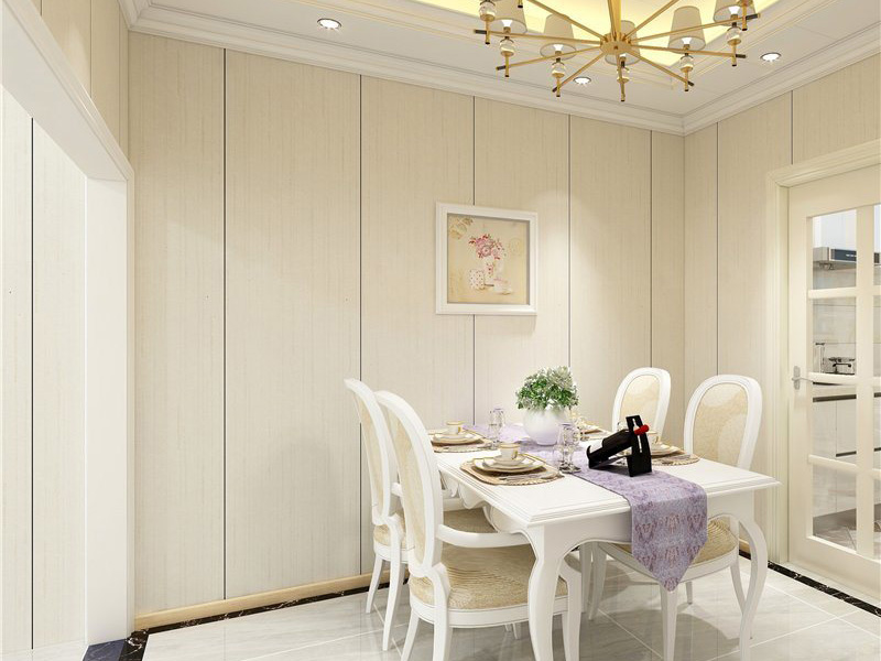 Pvc Wall Panel Dinning Room
