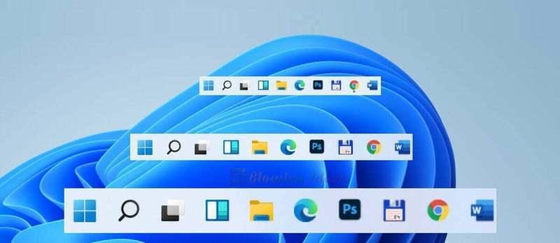 Change Taskbar Size In Windows 11