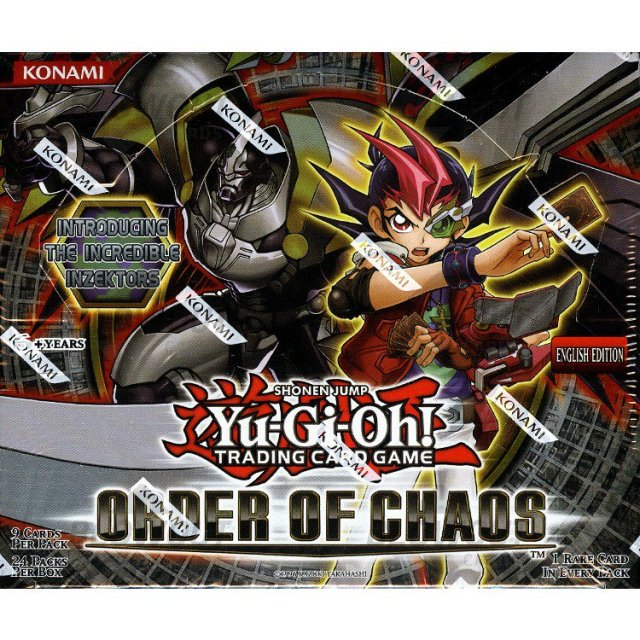 Yugioh Order Of Chaos Unlimited Ed Booster Box  C2 B7 Zoom